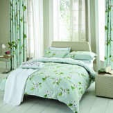 Sanderson Oleander Single Duvet Aqua Duvet Cover