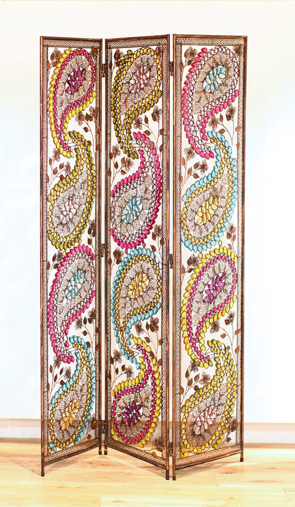Arthouse Arabian Nights Metal Screen  Room Divider main image