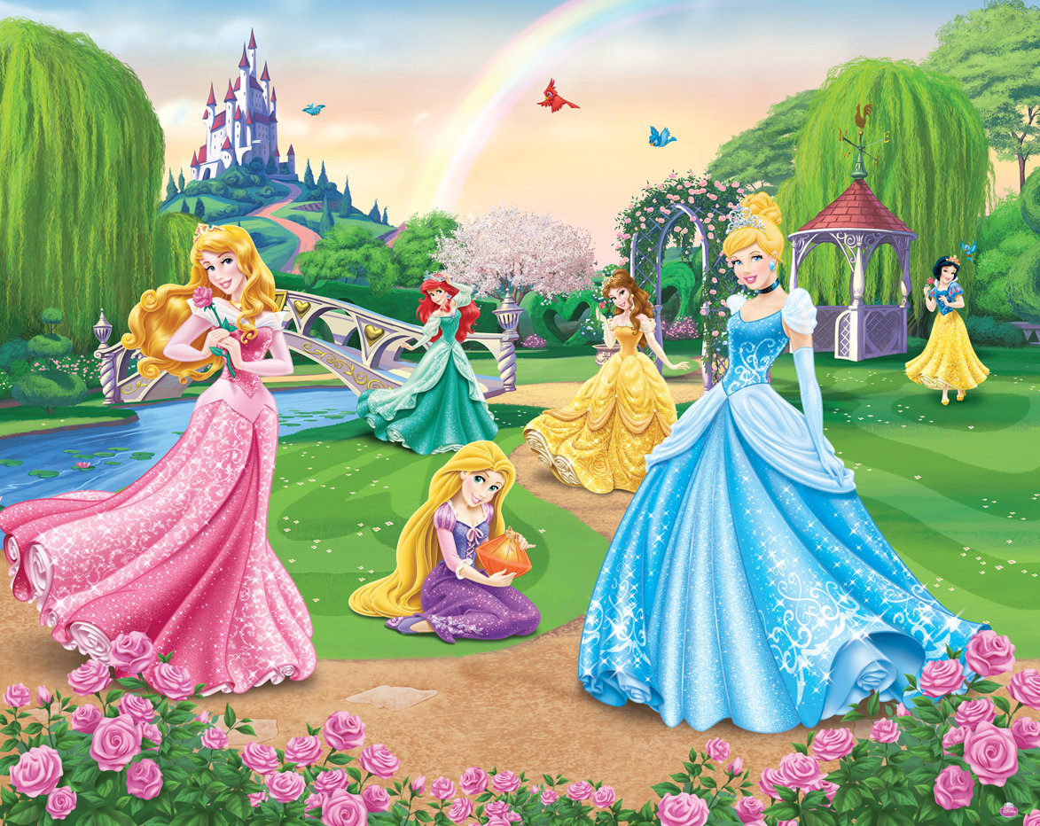 Disney com princess castle backgrounds disney princesses html code - Disney Princess Castle Wall Mural Princess Background Pictures Wallpaper Hd