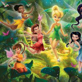 Walltastic Disney Fairies Multi Wallpaper