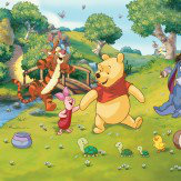 Walltastic Disney Winnie the Pooh Multi Wallpaper - Product code: 42100
