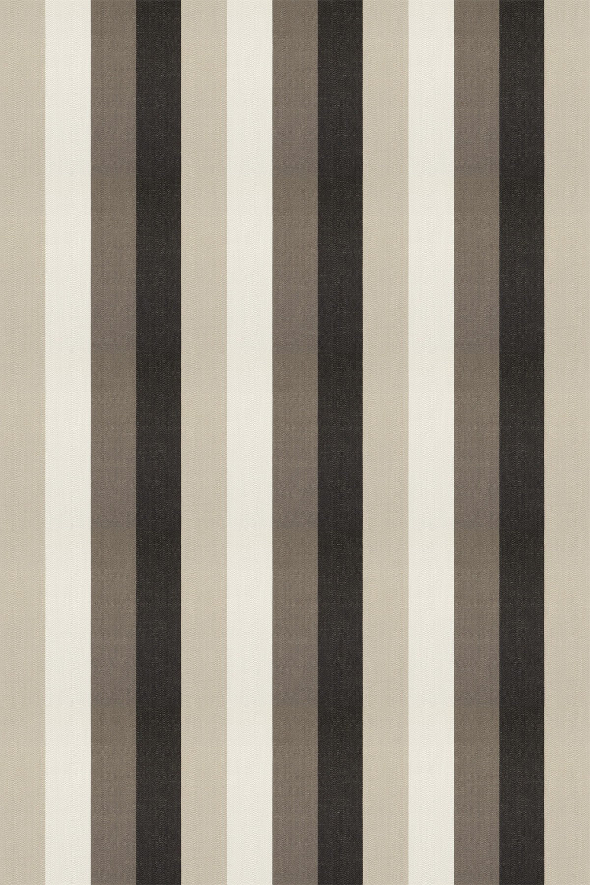 Image of Clarke & Clarke Fabric Lawn Stripe Charcoal, F0484/02