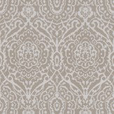 Soleil Bleu Mina Gold / White Wallpaper