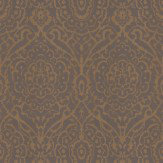 Soleil Bleu Mina Sand Brown Wallpaper