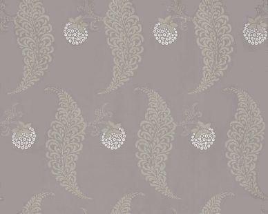 Farrow & Ball Rosslyn Dusky Purple / Metallic Silver Wallpaper main image