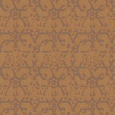 Carlucci di Chivasso Symbolic Brown / Orange / Metallic Bronze Wallpaper
