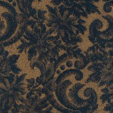Carlucci di Chivasso Scenic Deep Blue / Gold Wallpaper - Product code: CA8174/080