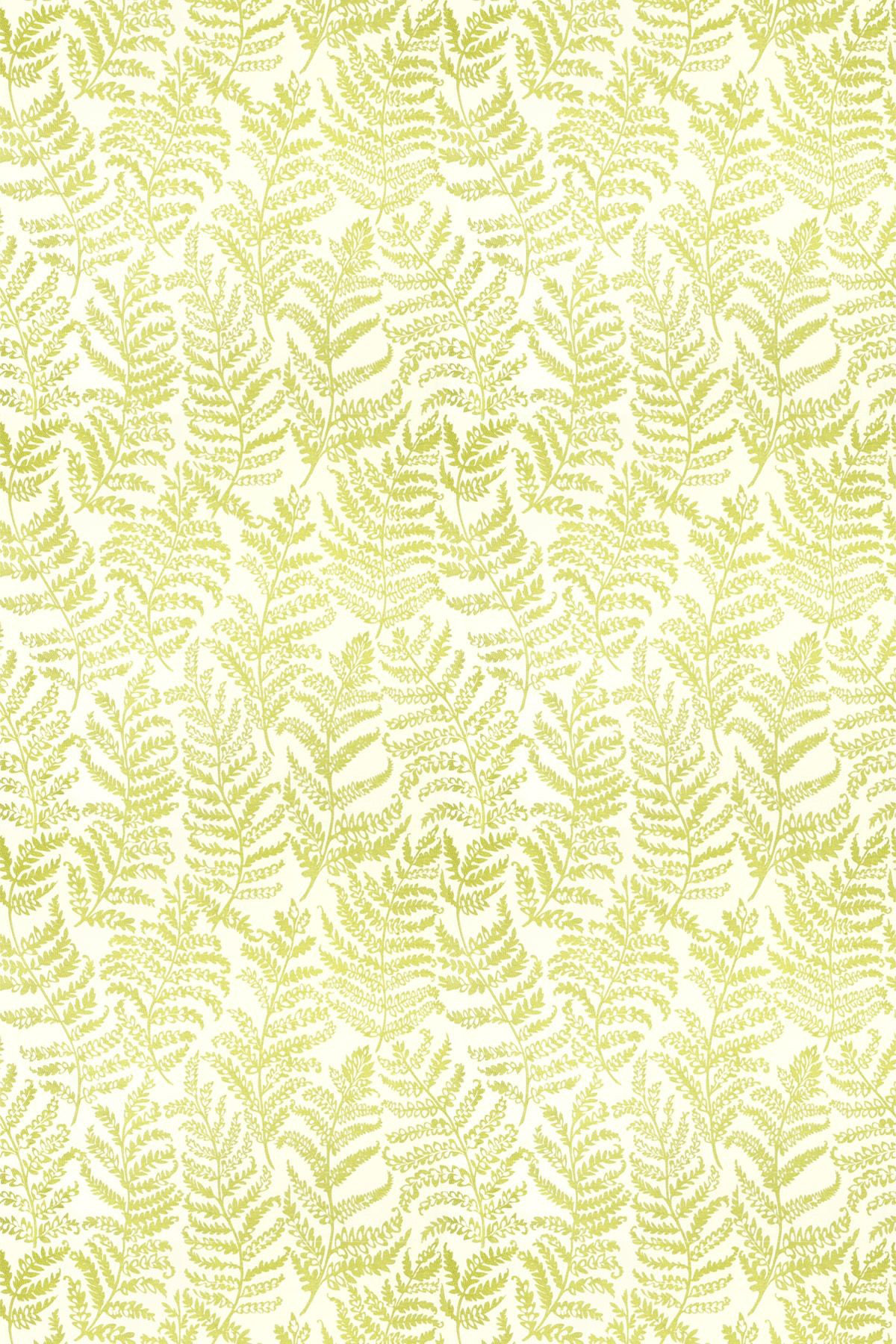 Image of Clarke & Clarke Fabric Wild Fern Citrus, F0488/02