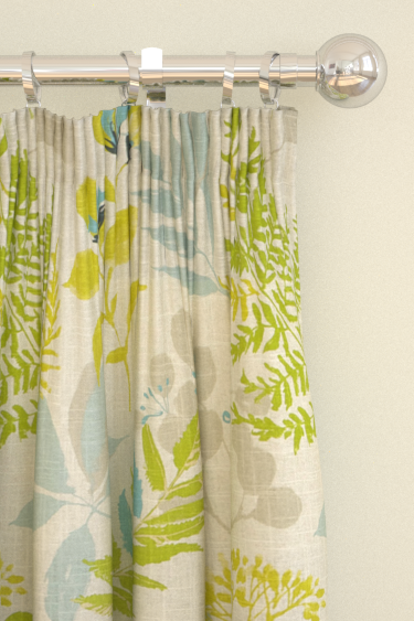 Clarke & Clarke Woodland Aqua Curtains