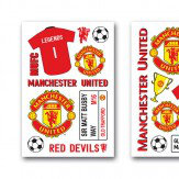 Brewers Manchester United Wall Sticker