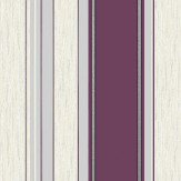 Albany Synergy Stripe Purple / Cream Wallpaper