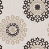 Soleil Bleu Rica Cream / Brown / Taupe Wallpaper - Product code: WT1011/080