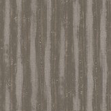 JAB Anstoetz  Splendid Stripe Brown / Metallic Silver Wallpaper
