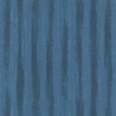 JAB Anstoetz  Splendid Stripe Teal Wallpaper