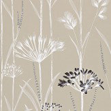 Harlequin Gardinum Parchment / Onyx / Gold Wallpaper - Product code: 110555