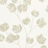 Harlequin Bonica Pearl / Stone / Gilver Wallpaper - Product code: 110580