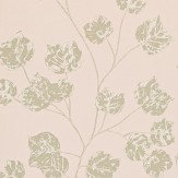 Harlequin Bonica Blush / Gold / Gilver Wallpaper - Product code: 110582