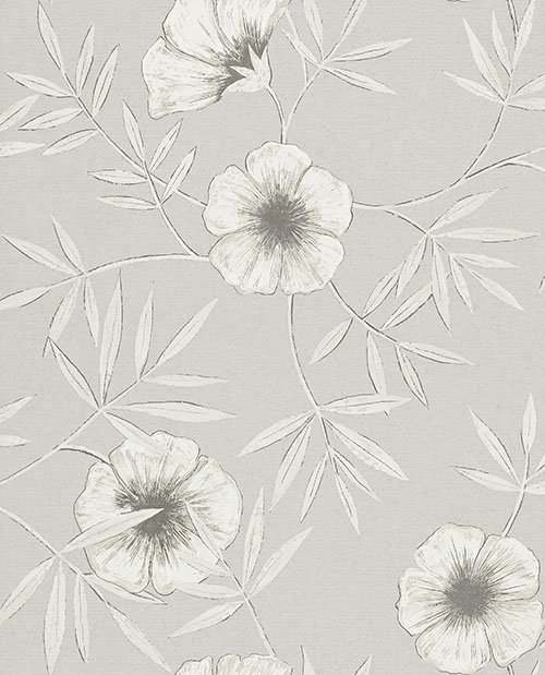 Harlequin Apella Smoke / Chalk Wallpaper - Product code: 110587