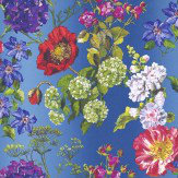 Designers Guild Alexandria Lapis Multi Wallpaper
