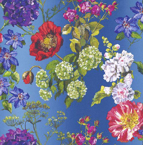 Designers Guild Alexandria Lapis Multi Wallpaper main image