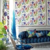 Designers Guild Alexandria Magenta Multi Wallpaper