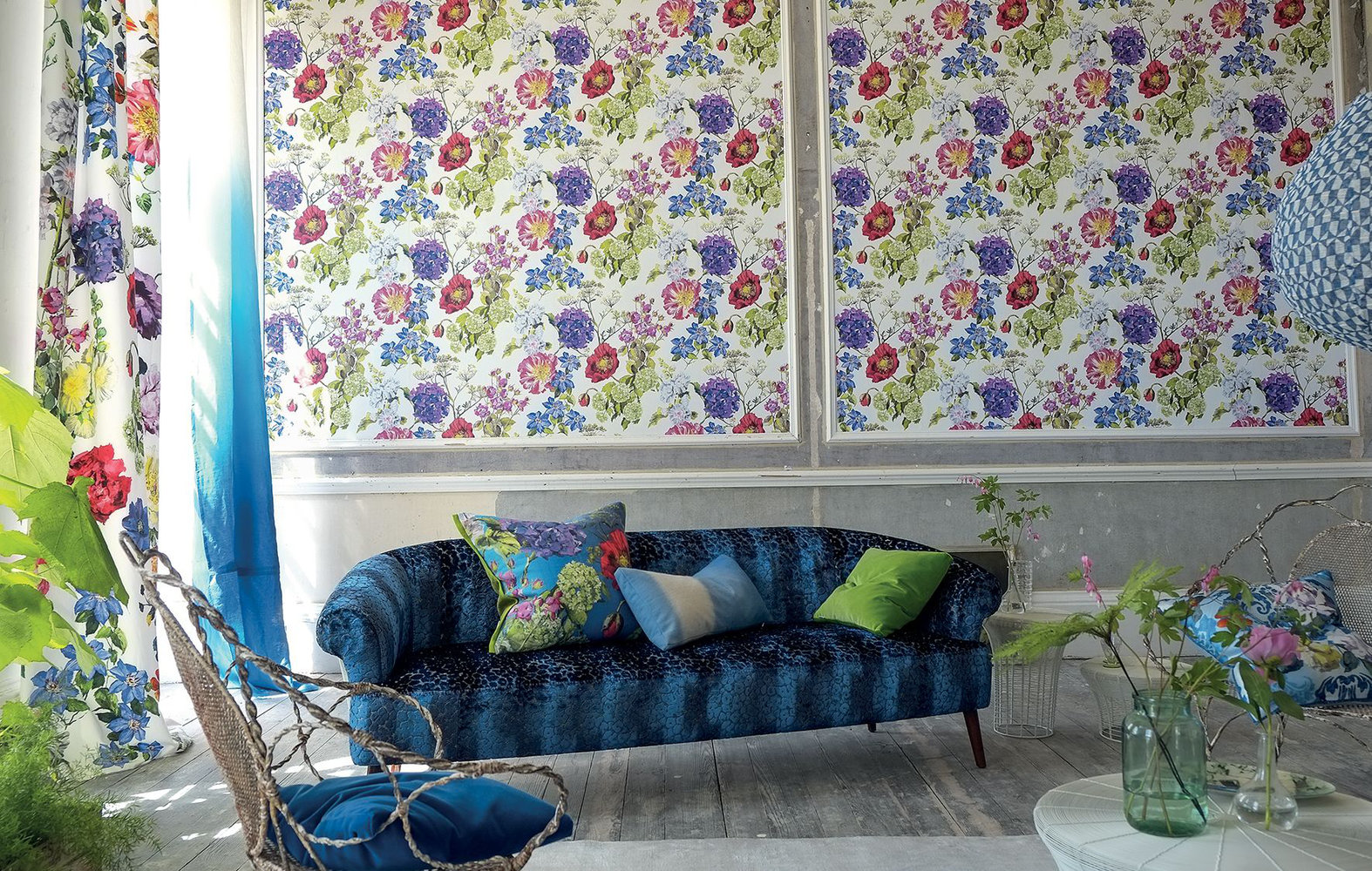 Alexandria magenta by designers guild wallpaper direct for Direct from the designers