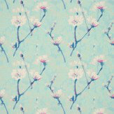 Sanderson Eleni Blue Wallpaper