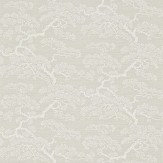 Sanderson Keros Cream / Silver Wallpaper