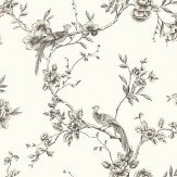 Arthouse Chinoise Black Wallpaper