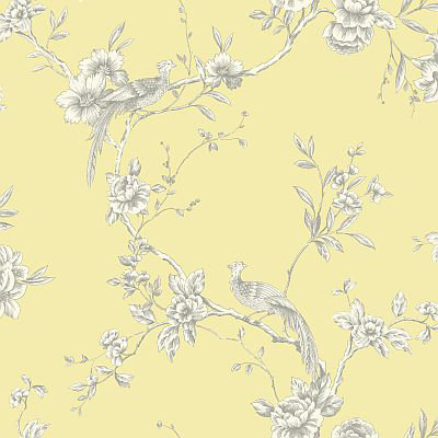 Arthouse Chinoise Yellow Wallpaper main image