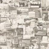 Andrew Martin Pinboard Charcoal Wallpaper - Product code: PB01-CHARCOAL