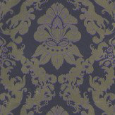 Matthew Williamson Pegasus Metallic Gold / Violet Wallpaper