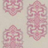 Matthew Williamson Empress Grey / Cerise Wallpaper - Product code: W6544-03