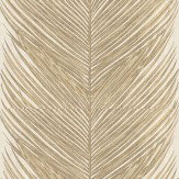 Nina Campbell Mey Fern Gold Wallpaper
