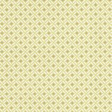 Nina Campbell Kelburn Lime / Gold Wallpaper