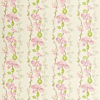 Sanderson Olida Pink / Green / Beige Fabric