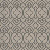 Matthew Williamson Imperial Lattice Pebble / Mica Wallpaper - Product code: W6546-02