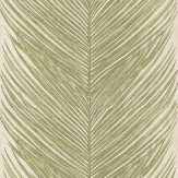 Nina Campbell Mey Fern Green Wallpaper