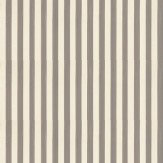 Farrow & Ball Closet Stripe Chocolate / Beige Wallpaper
