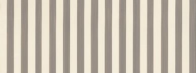 Farrow & Ball Closet Stripe Chocolate / Beige Wallpaper - Product code: BP 350