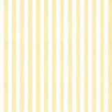 Farrow & Ball Closet Stripe Pale Yellow / White Wallpaper