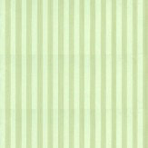 Farrow & Ball Closet Stripe Pale Green Wallpaper