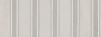 Farrow & Ball Block Print Stripe Grey / White Wallpaper - Product code: BP 757