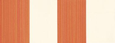 Farrow & Ball Broad Stripe Cream / Orange Wallpaper main image