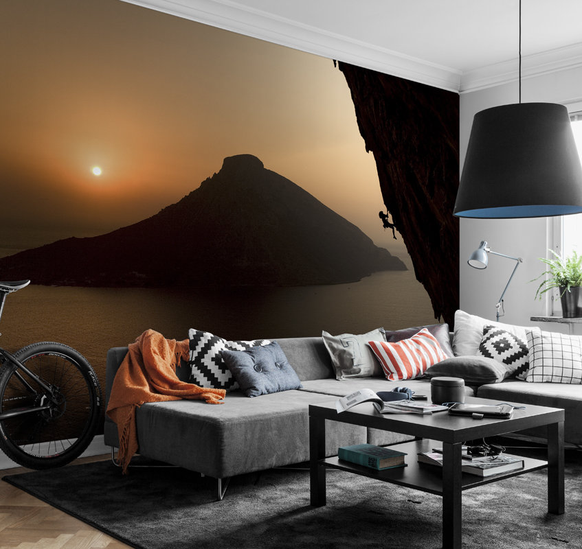 Mr Perswall Sunrise Mural - Product code: P170201-9