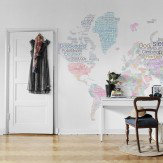Mr Perswall World Map Mural - Product code: P172701-8