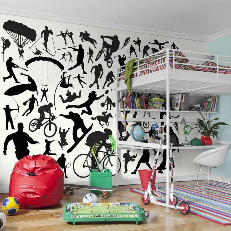 Mr Perswall Sport Mural - Product code: P173001-8
