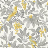 Cole & Son Royal Garden Yellow / Grey Wallpaper - Product code: 98/1003