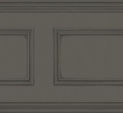 Cole & Son Library Frieze Midnight Black Wallpaper - Product code: 98/8038