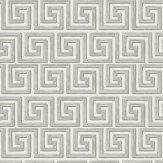 Cole & Son Queens Key Grey / Off White Wallpaper - Product code: 98/5018